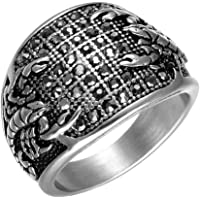 PAMTIER Stainless Steel Gothic Biker Scorpion Ring Hip Hop Style Men Women