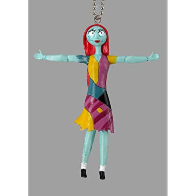 Nightmare Before Christmas Sally Bendable PVC Key Ring Toy, Multicolor: Toys & Games