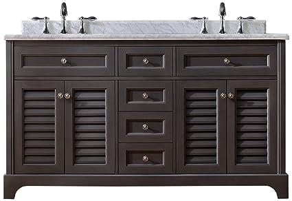 Amazon.com: Ari Kitchen and Bath Akb-Madi-60-Mpgr Madison Vanity Set ...