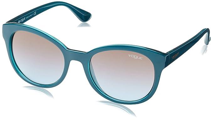 Sunglasses Mod.2795SM Petrol green/opal aqua green/Azure grad pink grad brown, 53 Vogue