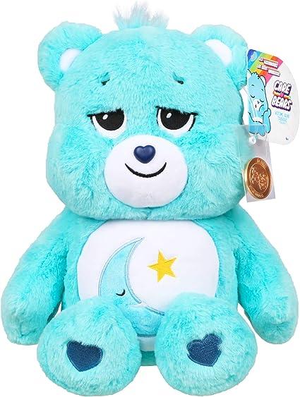Message Recorder Stuffed Animals, Amazon Com Care Bears Bedtime Bear Stuffed Animal Amazon Exclusive Toys Games