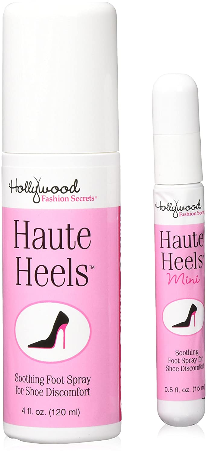 Hollywood Fashion Secrets Haute Heels Value Pack 4 oz & .5 oz Chiropractors Buying Group 52493