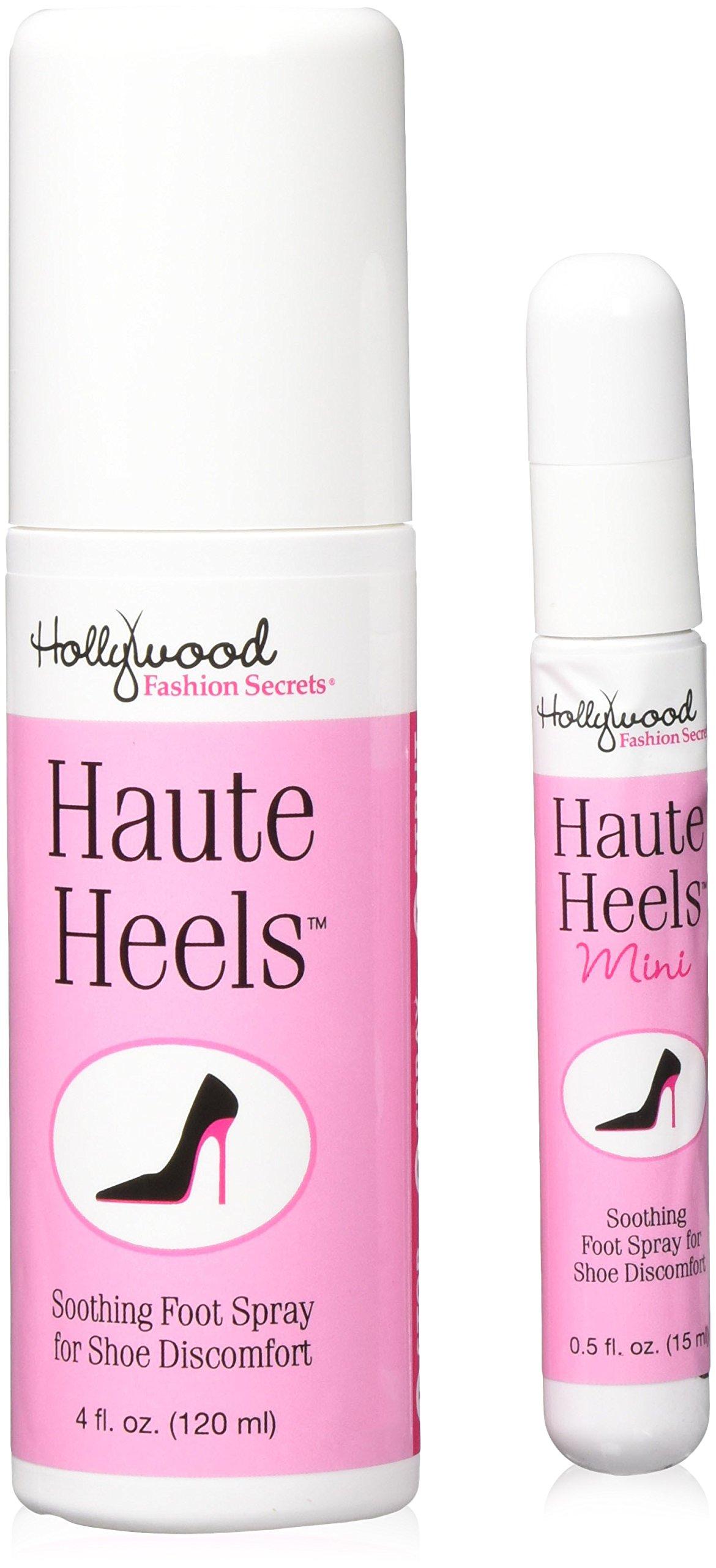 Hollywood Fashion Secrets Haute Heels Value Pack 4 oz & .5 oz