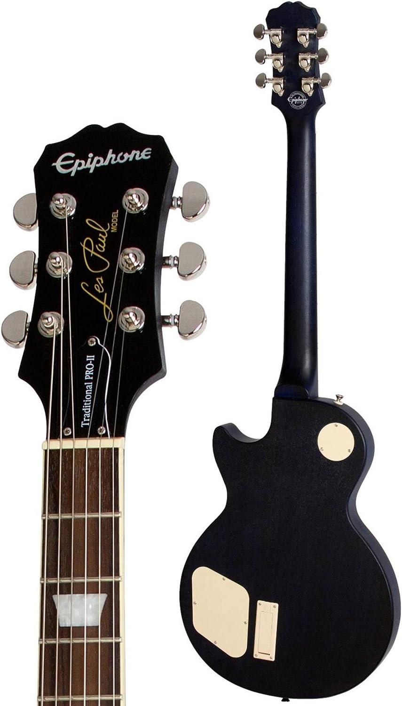 Edición limitada Epiphone Les Paul Traditional PRO-II guitarra eléctrica océano azul Burst: Amazon.es: Instrumentos musicales