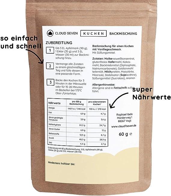 Proteína de tartas de Back mezcla | solo 260 - 270 Calorías ...