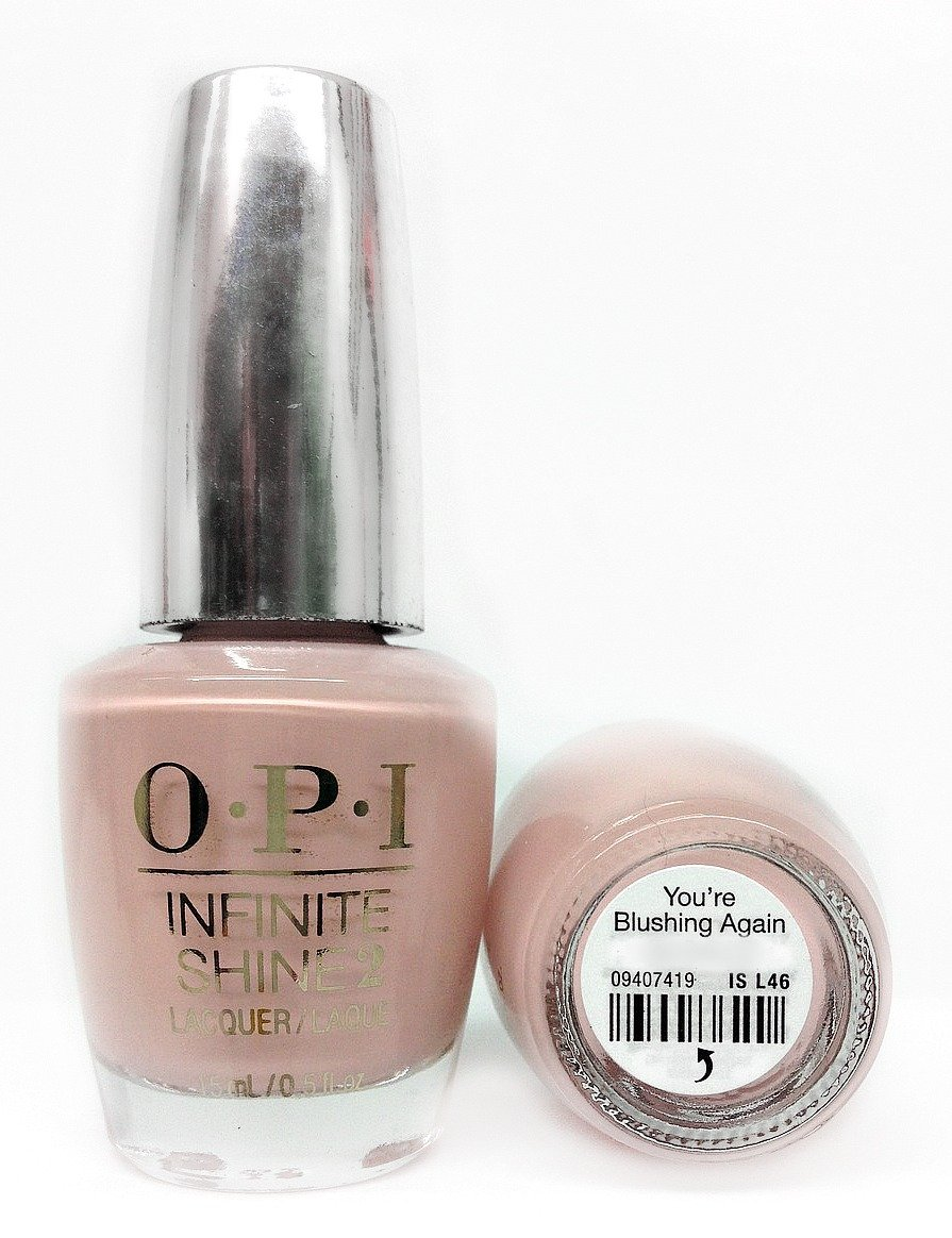 OPI Infinite Shine Nail Gel, You\'re Blushing Again: Amazon.co.uk: Beauty