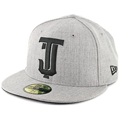 New Era 5950 Toros de Tijuana TJ Fitted Hat (Heather Gray) Mexico ... ce76430e3a9