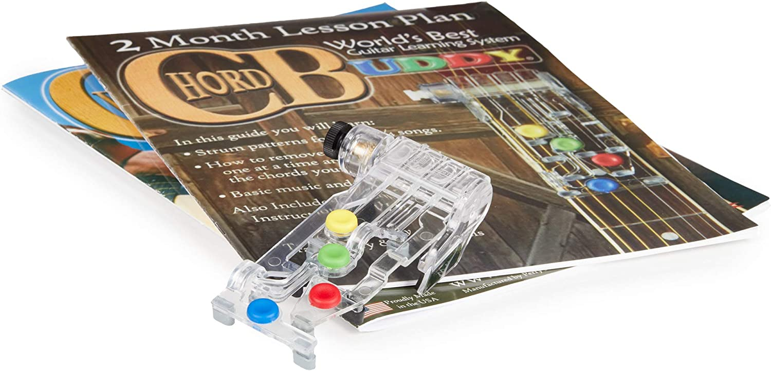 """ChordBuddy """"MADE IN THE USA"""" - Comes with Songbook, Lesson Plan, App, and Right Handed ChordBuddy"""