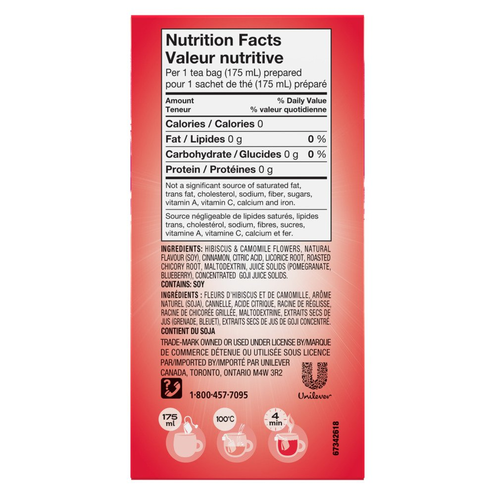 Lipton® Summer Fruits Herbal Tea Bags 20 ct by Lipton (Image #4)