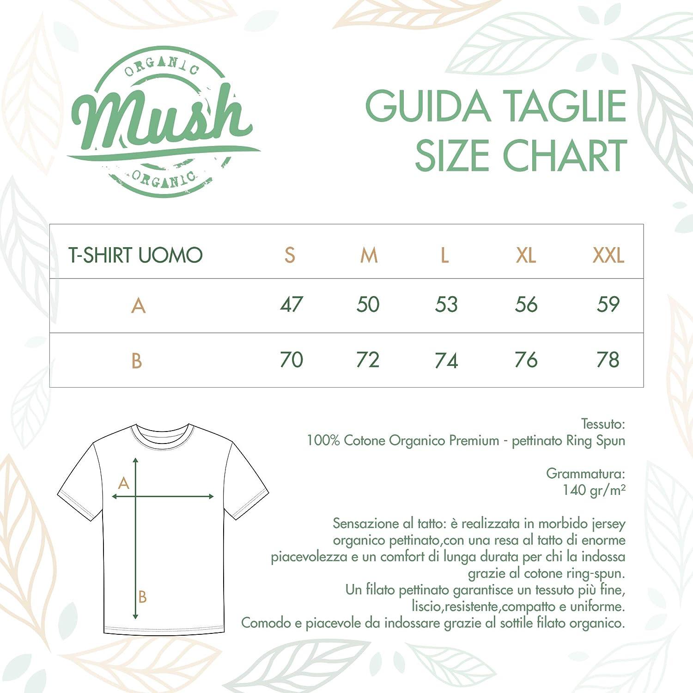 100/% Cotone Organico MUSH T-Shirt T-Shirt Banksy Darth Vader Radio Famous Street Art