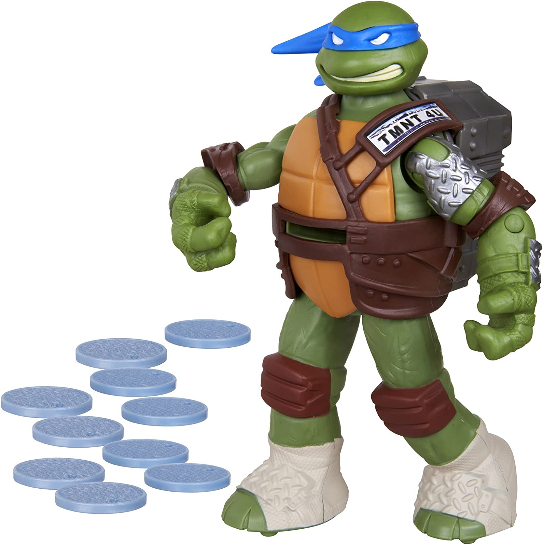 Amazon Com Teenage Mutant Ninja Turtles Flingers Disc Firing