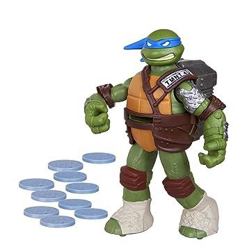 Teenage Mutant Ninja Turtles Flingers Disc Firing Leonardo ...