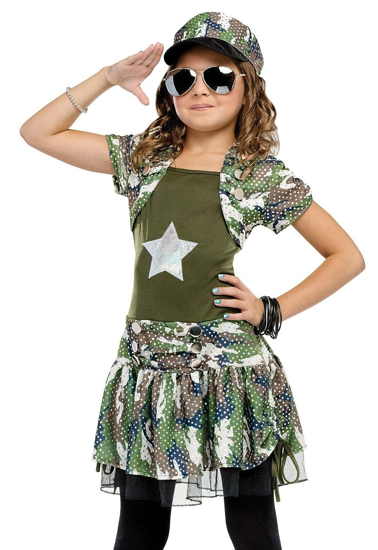 sc 1 st  Amazon.com & Amazon.com: Big Girlsu0027 Army Brat Costume: Toys u0026 Games