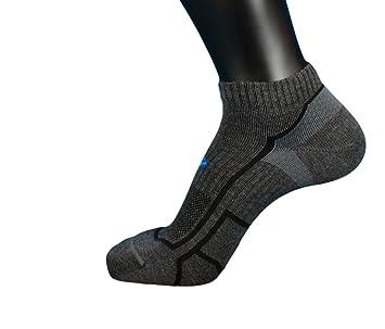 Columbia - Calcetines de Running por montaña, 1 par, Color Gris, tamaño 35-38: Amazon.es: Deportes y aire libre