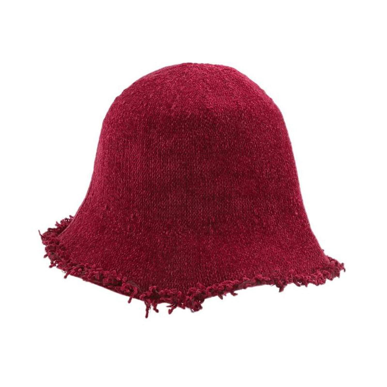 Sivane Cotton Bucket Hats Leisure Fisherman hat Outdoor Fishing caps Knitted Fisherman Cap