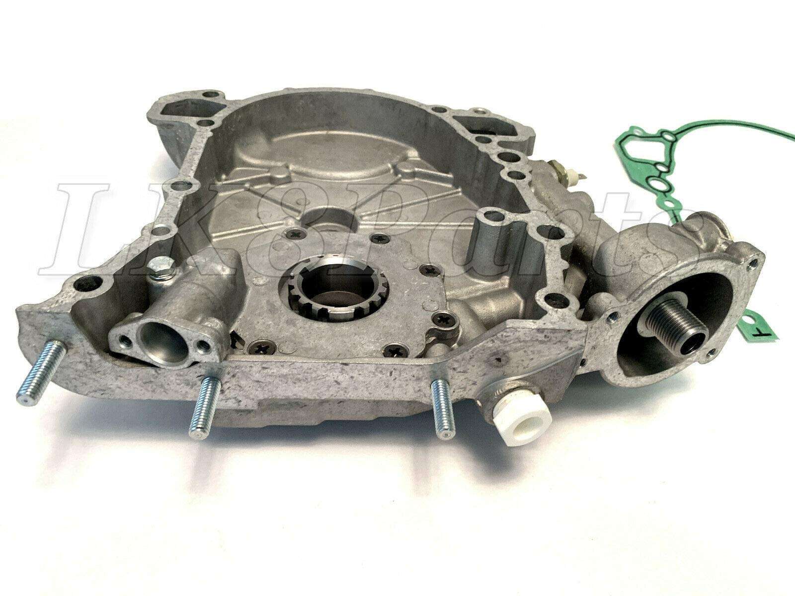 RANGE ROVER P38 95-99 DISCOVERY OIL PUMP FRONT ENGINE COVER W/GASKET ERR6438 by Proper Spec (Image #5)