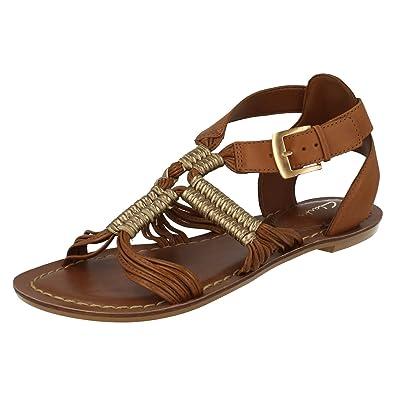 amazon clarks sandals ladies