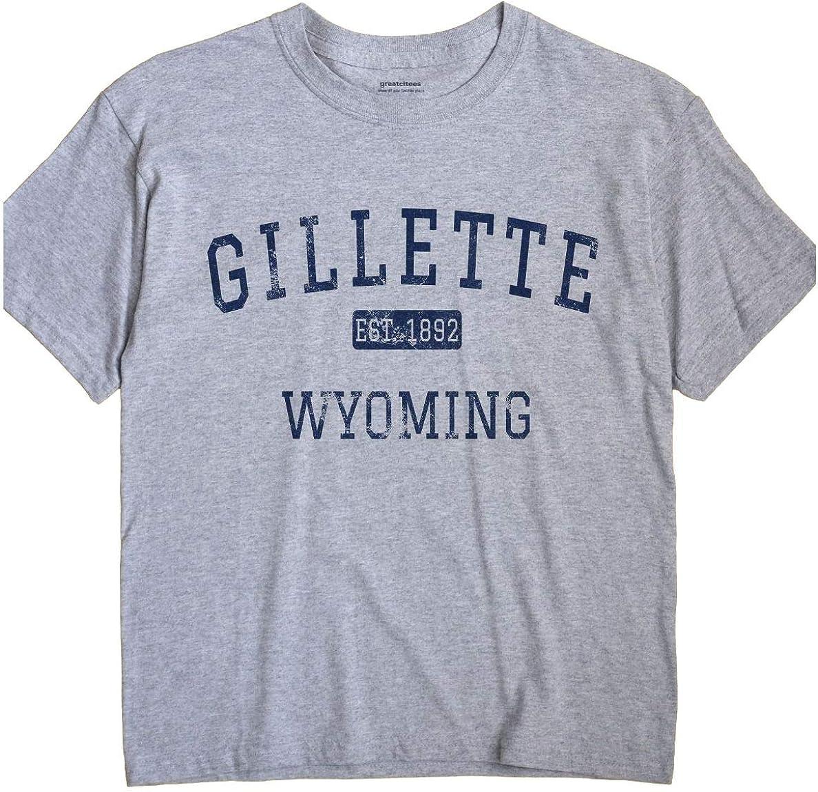 Gillette Wyoming T-Shirt EST