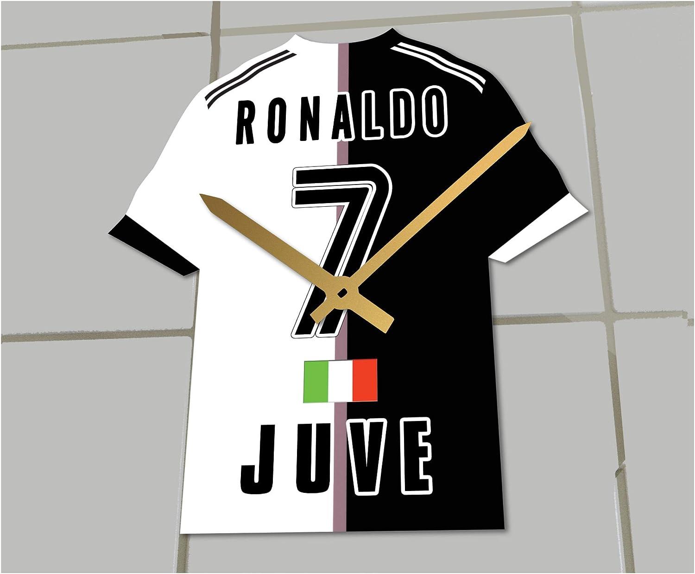 MyShirt123 Juventus FC – Club de fútbol Camiseta de fútbol Reloj – Cualquier Nombre y Cualquier número – Elegir.: Amazon.es: Deportes y aire libre