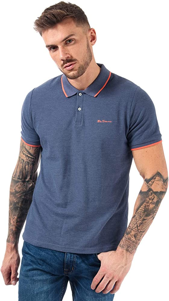 Ben Sherman - Polo - para Hombre Azul Morado (XL: Amazon.es: Ropa ...
