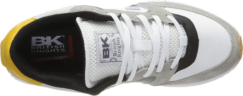 British Knights Women's Low-Top Sneakers Grey (Lt. Grey/Dk. Grey/Ocker Suede 02)