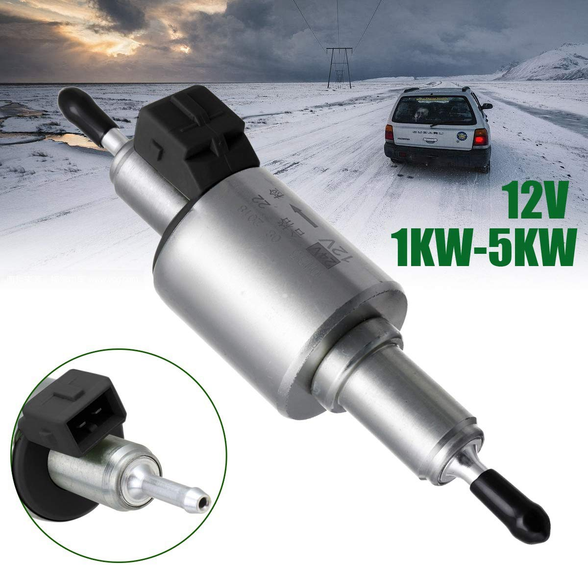 RETYLY Universal 12V 1Kw-5Kw Car Air Heater Diesels Pump For Auto Air Diesels Parking Heater Car Accessories