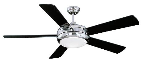 Litex e tit52sch5lkrc titan collection 52 inch ceiling fan with litex e tit52sch5lkrc titan collection 52 inch ceiling fan with remote control five aloadofball Images