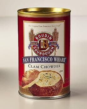 Boudin Sourdough San Francisco Clam Chowder Soup