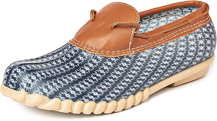 DKSUKO Women's Waterpoof Loafer Shoes