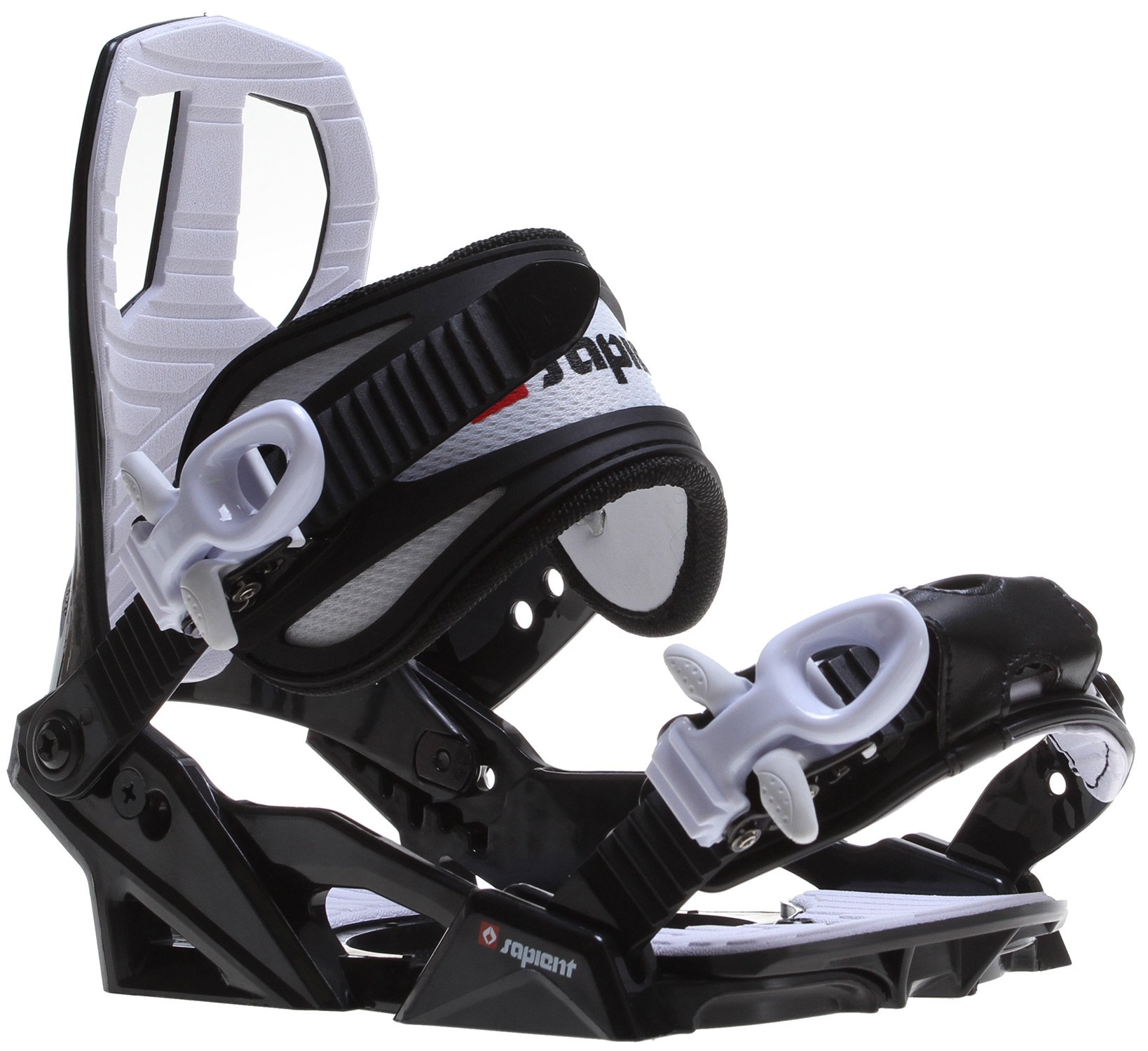 Sapient Zeus Jr Snowboard Bindings Black Sz S (4-7)