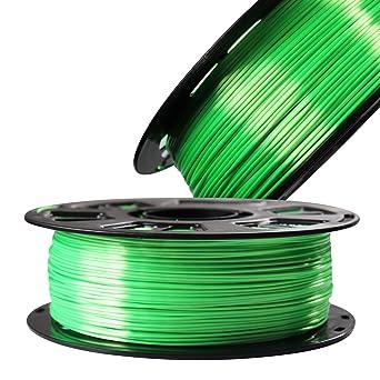 Amazon.com: Filamento para impresora 3D brillante de seda ...