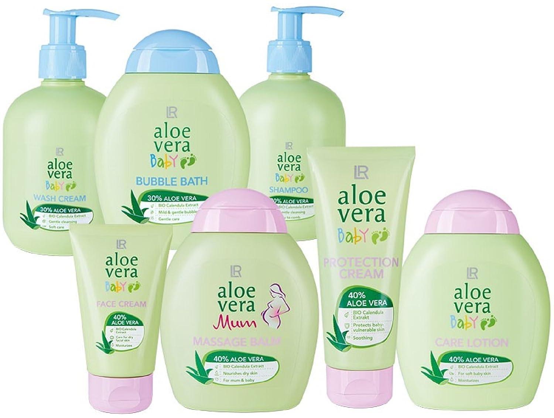 Aloe Vera Baby Pflege-Set 7-teilig