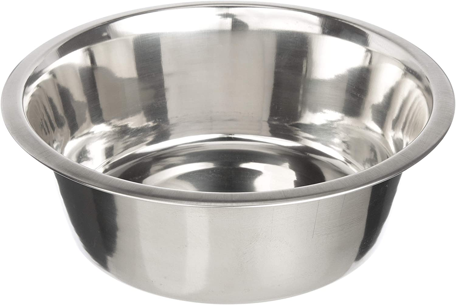 Stainless Steel Dog and Cat Bowls - Neater Feeder Extra Replacement Bowl (Metal Food and Water Dish), Single Bowl or 2 Pack