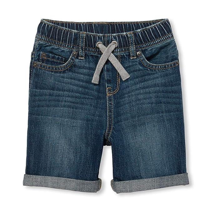 27380d6811 Amazon.com: The Children's Place Boys' Denim Shorts: Clothing