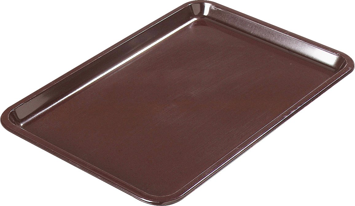 Carlisle 302201 Standard Tip Tray, 6-1/2 x 4-1/2'', Brown by Carlisle (Image #1)