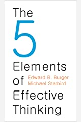 The 5 Elements of Effective Thinking Kindle Edition