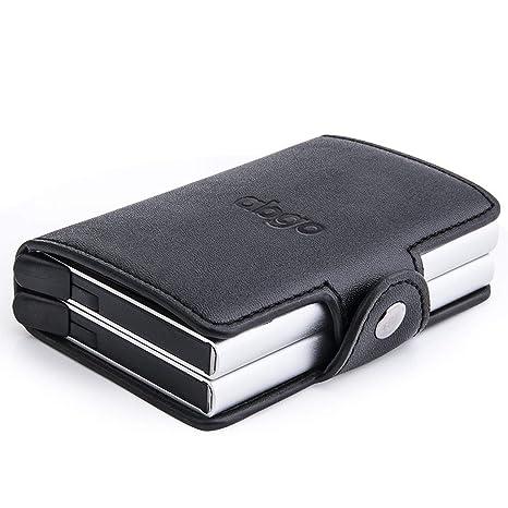 dce9f4f4ef Porta carte di credito, RFID,schermato, porta carta di credito, pulsante pop
