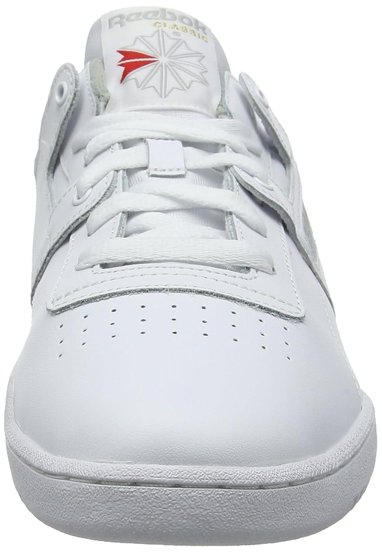Reebok Herren Workout (Int Low Fitnessschuhe Weiß (Int Workout Weiß grau 000) 40.5 EU 63ec04