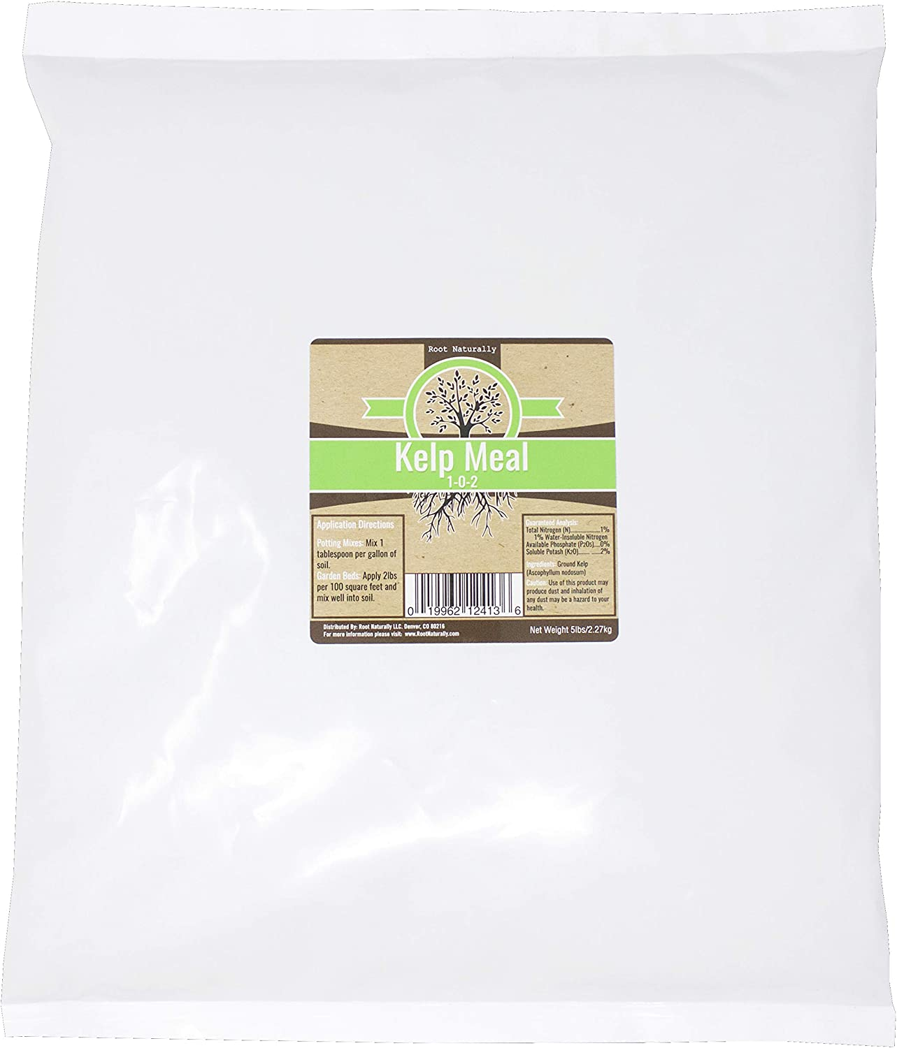 Root Naturally Kelp Meal - 5 Pounds