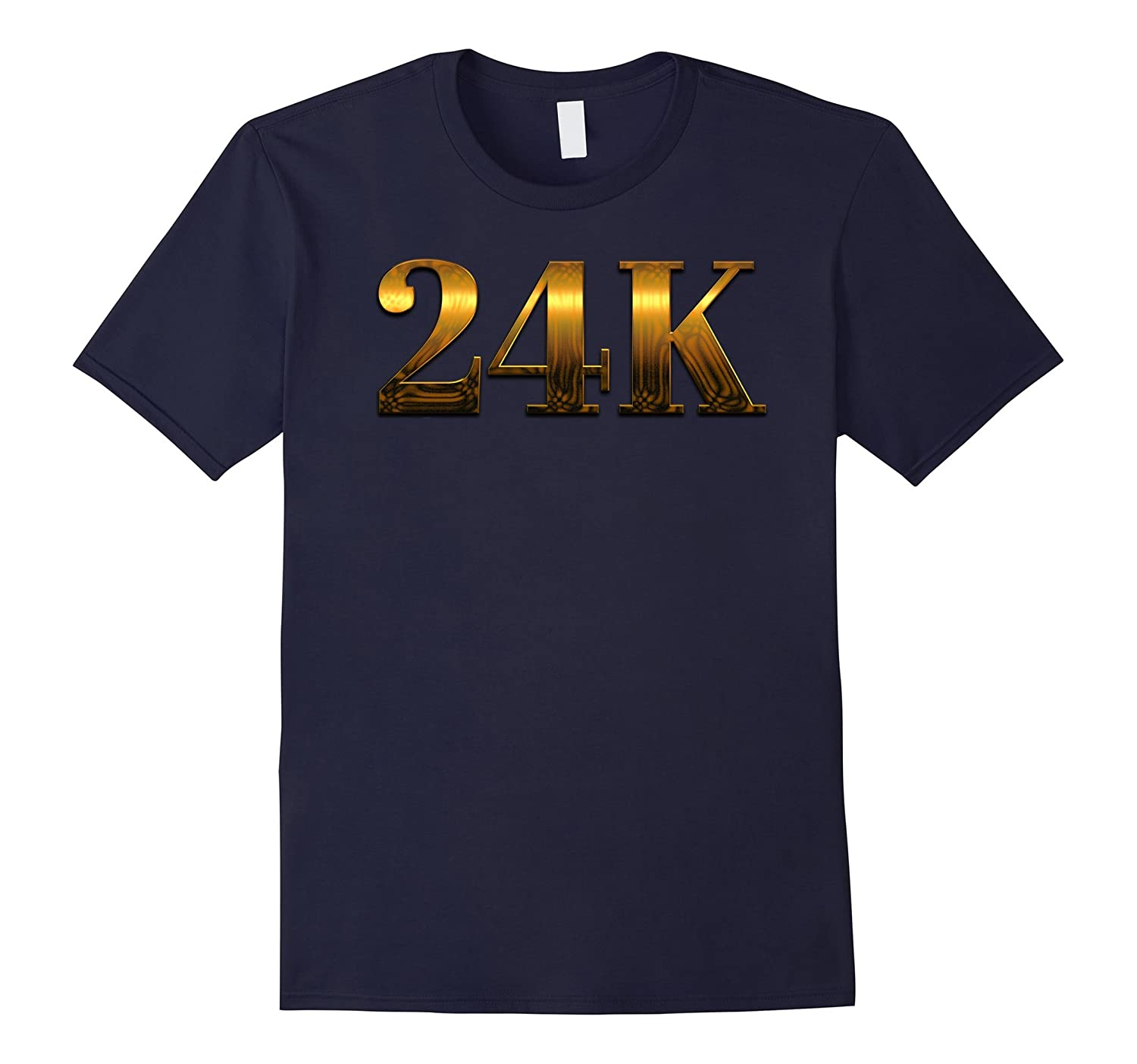 24K T shirt - Cool Gold Tshirt-FL