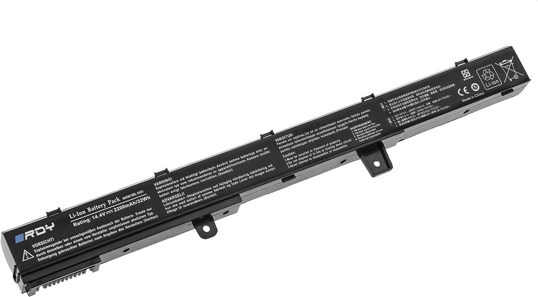 2200mAh 14.8V RDY Batterie pour ASUS D550CA-SX281H D550M D550MA D550MA-DS01 F451 F451C F451CA F451CA-VX124D F451CA-VX152D F451CA-VX153D