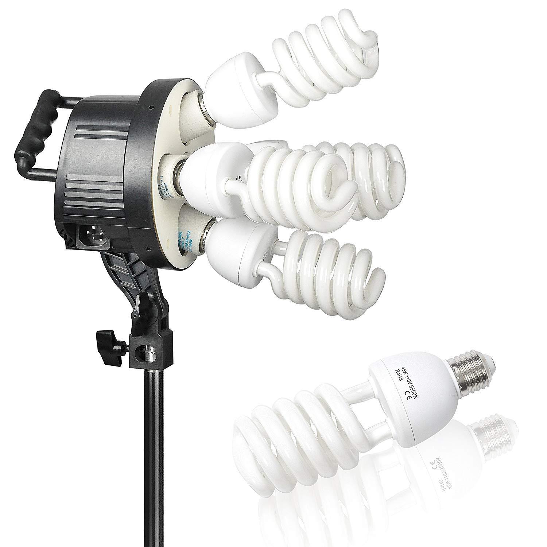 Emart Softbox Photography Lighting Kit,2250 Watt Continute Lighting Photo Studio Softbox 20'' x 28'', 10pcs E27 Video Lighting Bulb by EMART (Image #3)
