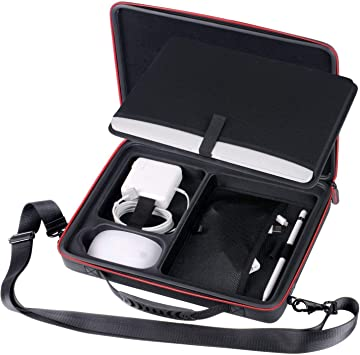 Smatree Estuche rígido de Transporte Compatible con MacBook Pro/MacBook Air 2020 2019 2018 2017/12.9 Pulgadas iPad Pro/Surface Pro X / 7/6/5/4 de 12-13,3 Pulgadas (Negro): Amazon.es: Electrónica