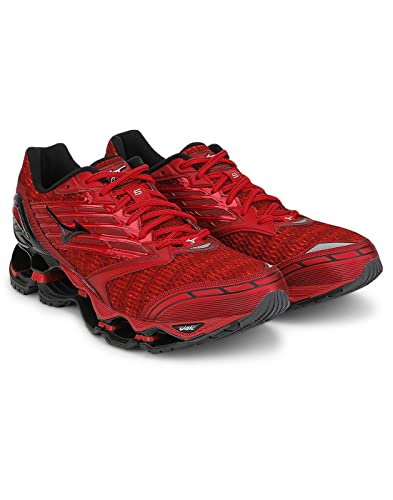 low priced 2798e fb3f3 Mizuno J1GC160010-5 Wave Prophecy Running Shoes, Men s UK 11 (Chinese Red