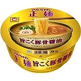 マルちゃん正麺 カップ 旨こく豚骨醤油 113g×12個
