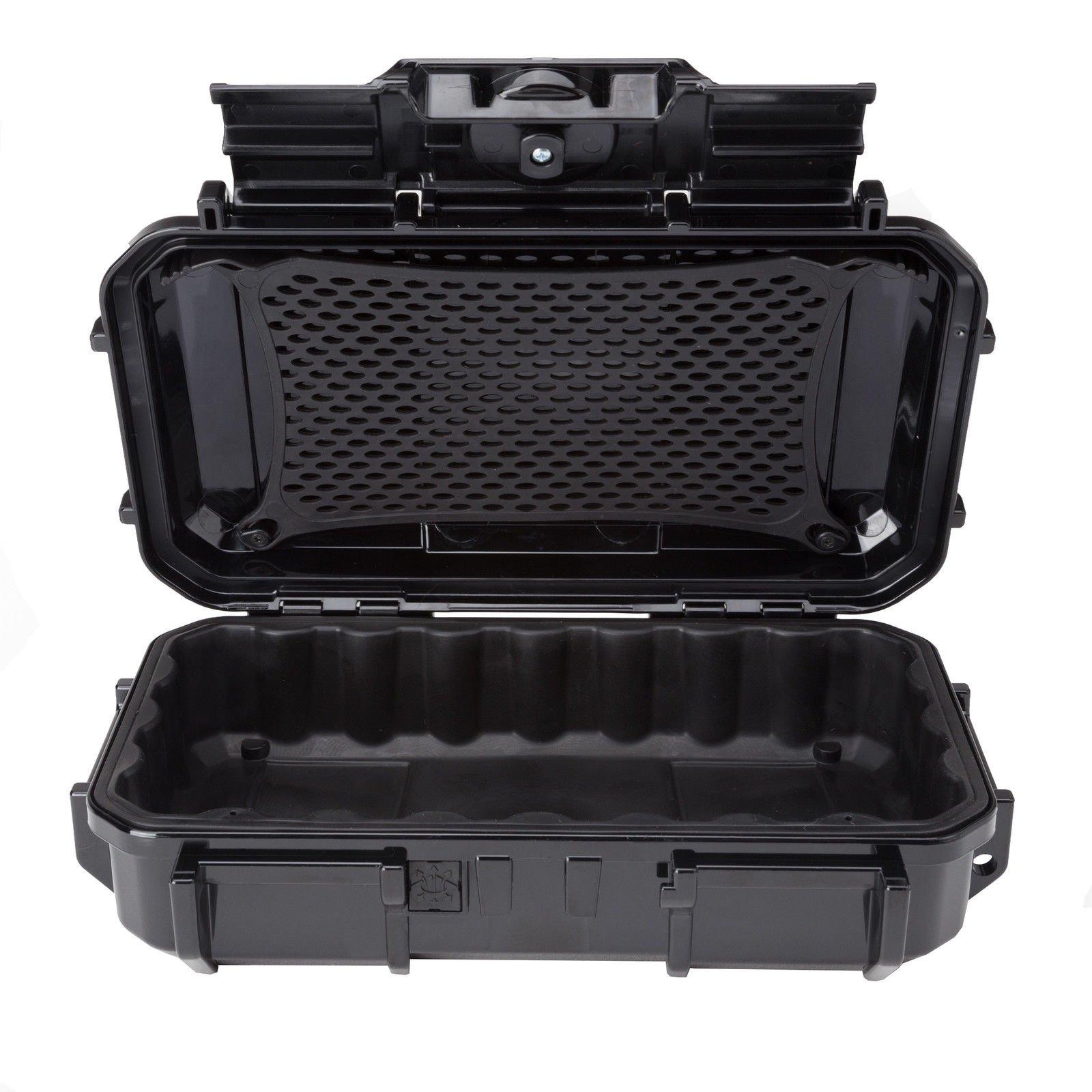 MRT SUPPLY Watertight Crush-Resistant Protective Micro Storage Case, Black Ebook
