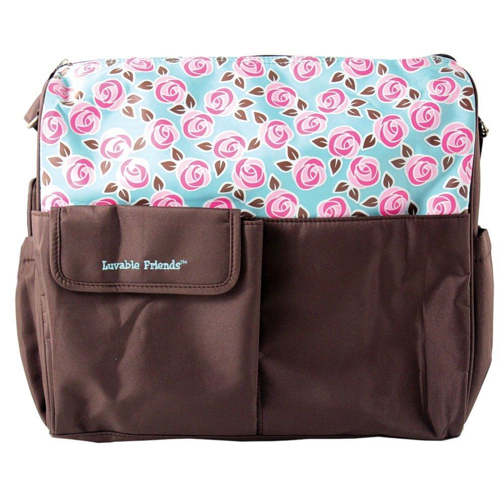 Amazon.com : Pañal bolsa de asas, Brown, Grande : Baby