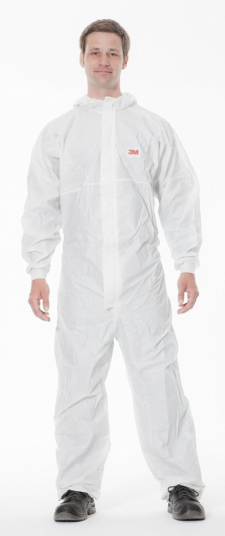Bianco//Blu Taglia 2XL 3M/™ 4540+ Indumento di protezione 5//6 PE laminato microporoso con retro SMMMS 55g//mq