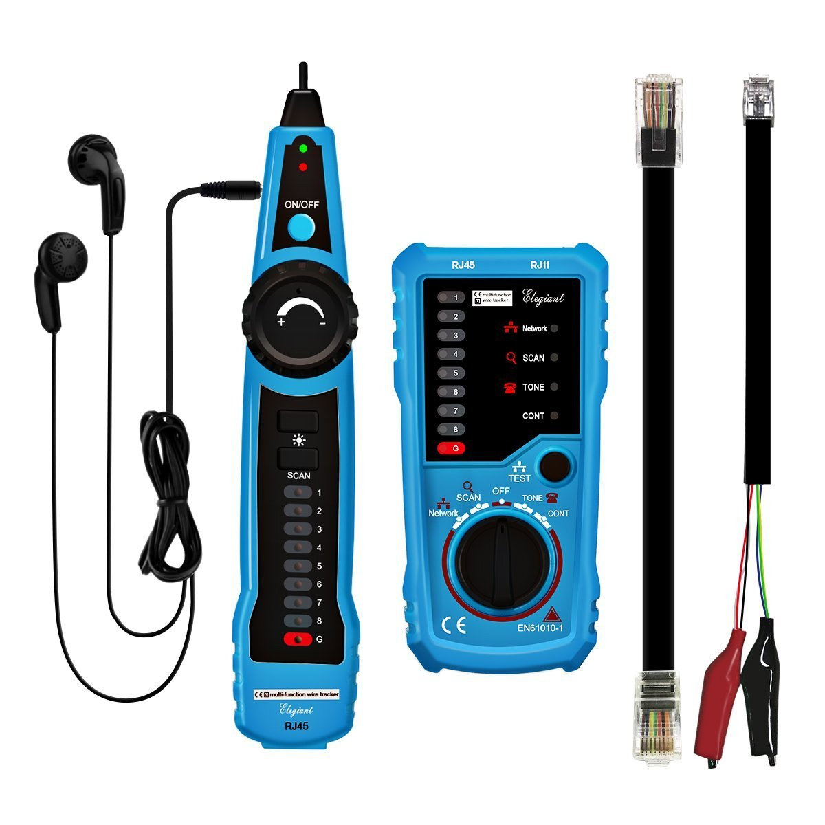 ELEGIANT Bside FWT11 High Quality RJ11 RJ45 Telephone Wire Tracker ...
