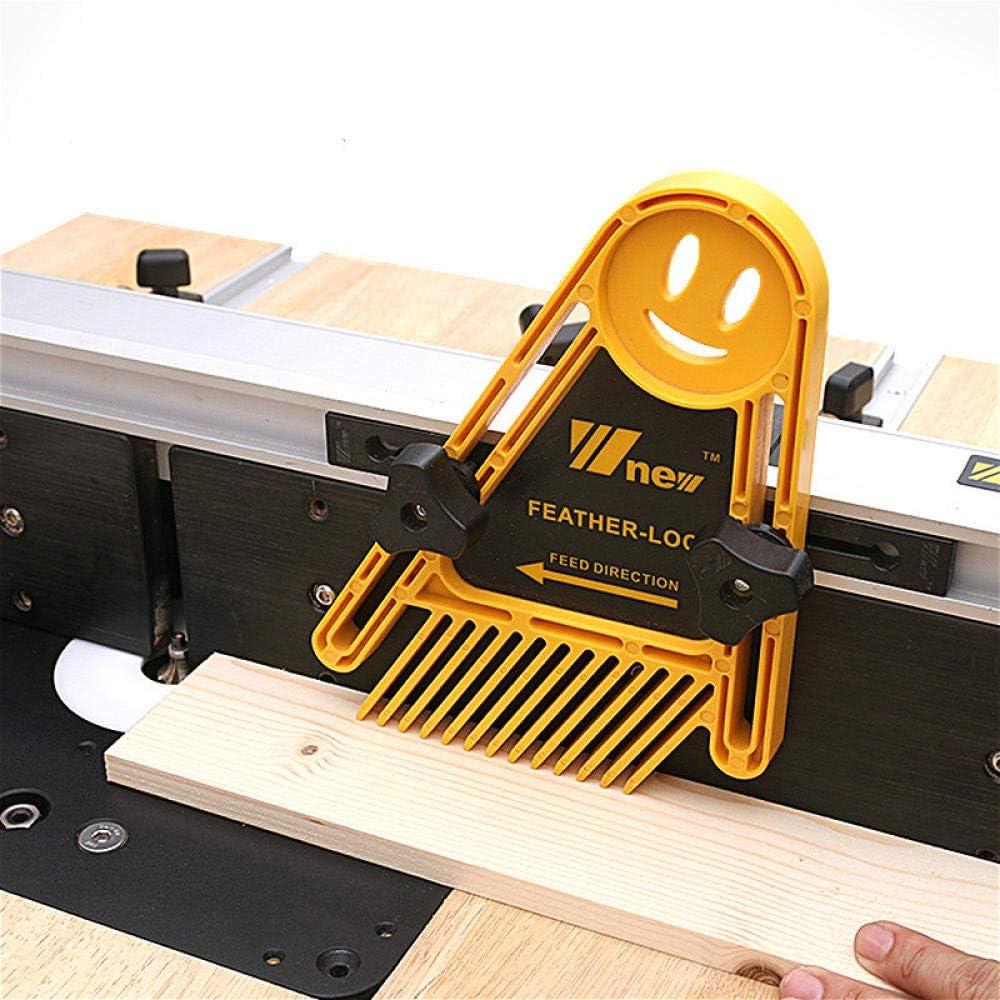 Multi-Purpose Spring Loc Board Set Woodworking Engraving Miter Gauge Slot Wood DIY Tools-White White